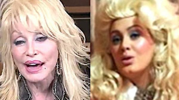 Dolly Parton Pays Ultimate Video Tribute To Adele Over Dress-Up Photo