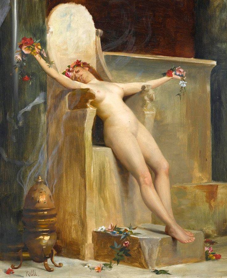 The Offering by Theodoros Ralli (1852-1909)