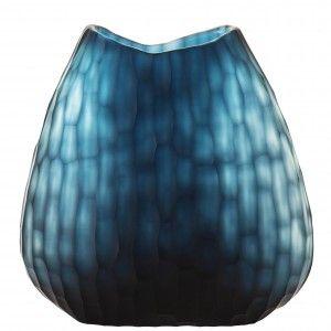 Art Glass Vase - Smoke