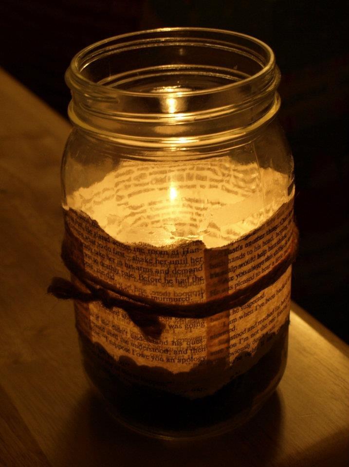 Mason jar candle craft pinterest for Mason jar candle crafts
