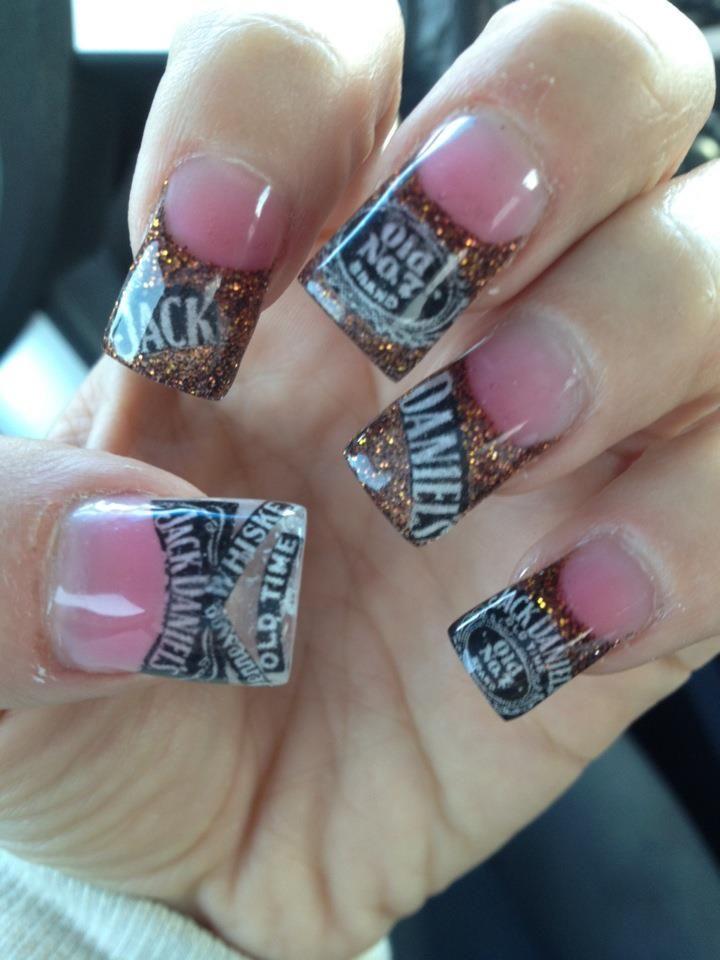 jack daniels nails