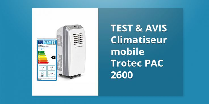 Climatiseur mobile Trotec PAC 2600