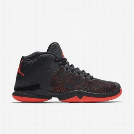 d4041aa414abe ... black basketball shoes nikenike mens black anthracite infrared 23 jordan  super.fly 4 po basketball