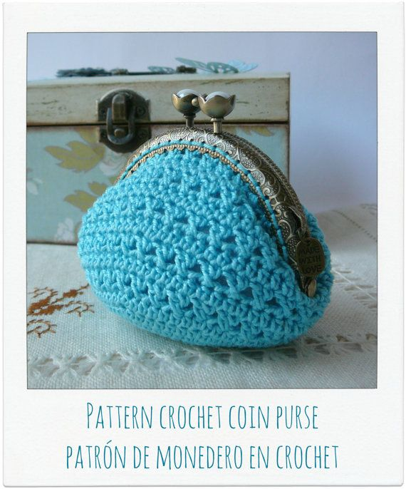PATTERN Crochet Coin Purse Model nº 11 by PitusasyPetetes on Etsy