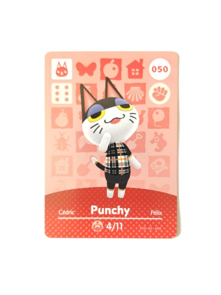 14++ Animal crossing new horizons punchy images