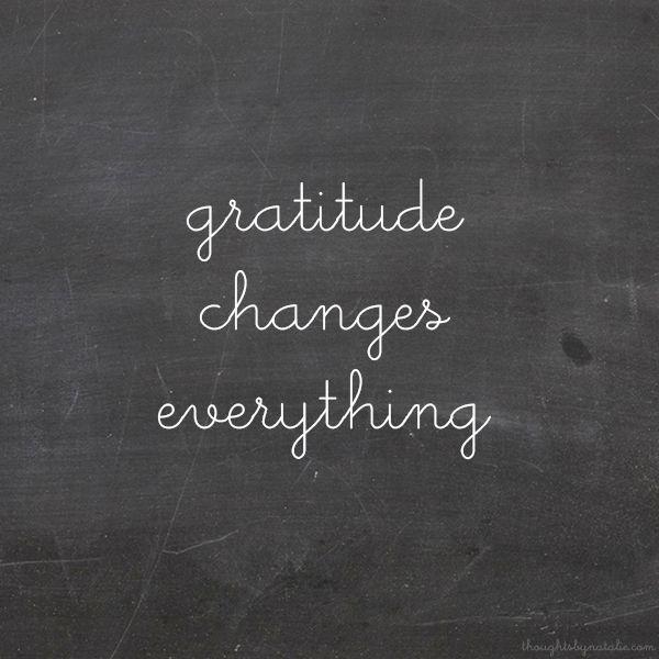Sunday Sessions: Attitude Of Gratitude // www.thoughtsbynatalie.com
