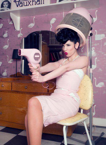 Pink Salon.
