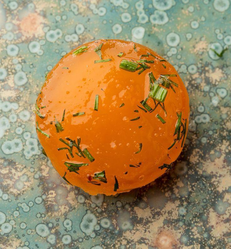 herb cured egg yolk                                                       …