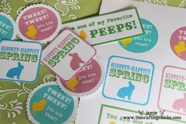 a round up of free #Easter printables at TidyMom.net