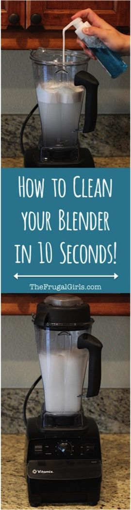 Best Way to Clean a Blender