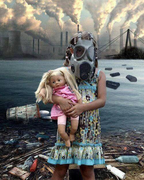 Quizás no veas la #contaminación que generamos hoy pero ellos si la verán de seguir así