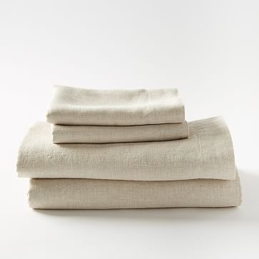 Belgian Flax Linen JUST 2 PILLOW CASES - KING #westelm