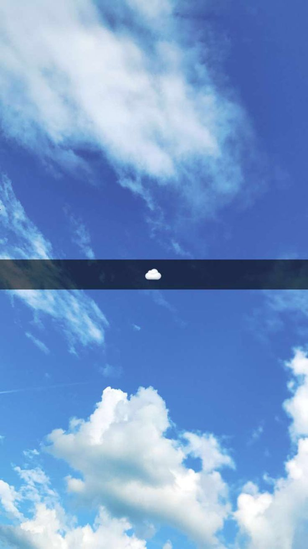Snapchat sky