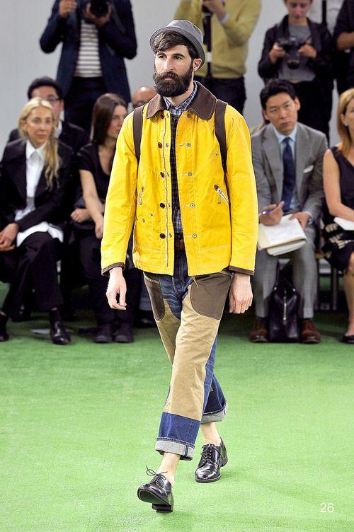 [No.29/55] COMME des GARÇONS JUNYA WATANABE MAN 2014春夏コレクション | Fashionsnap.com