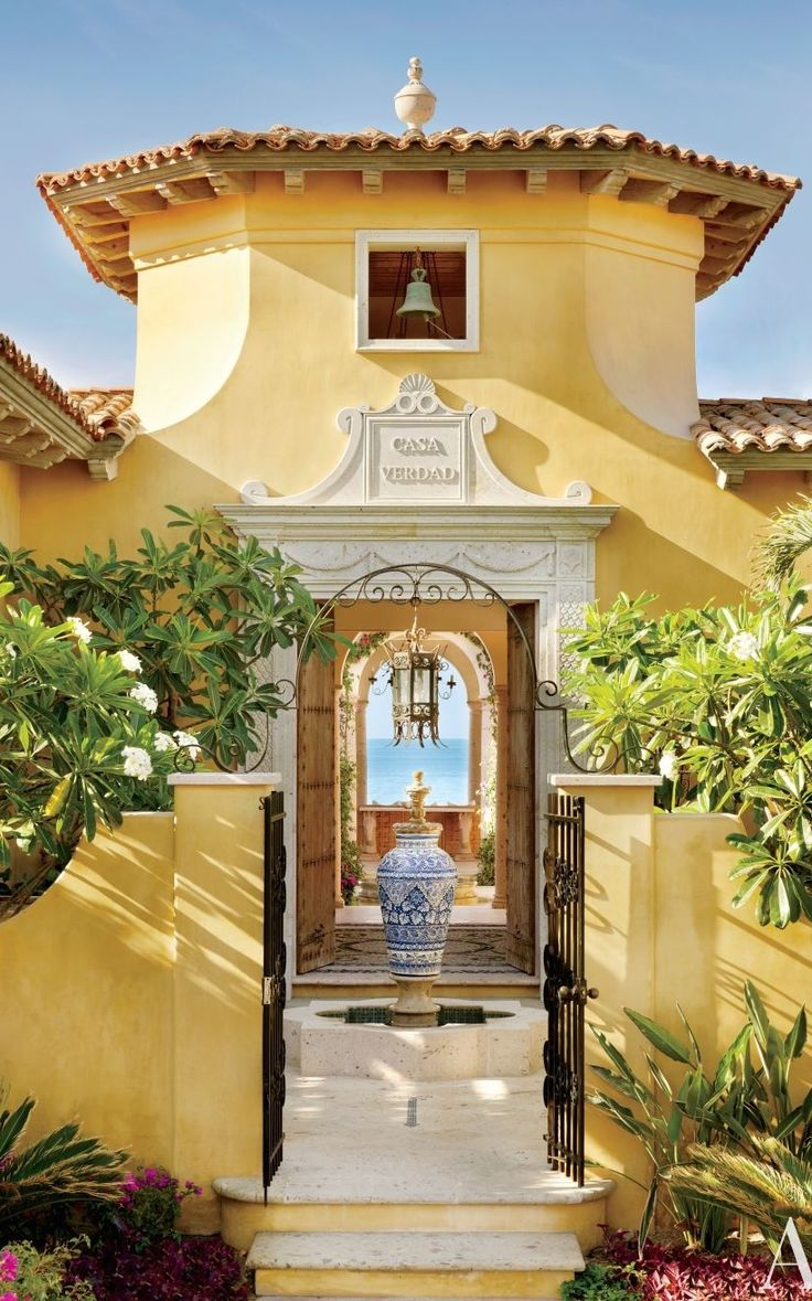 535 best images about tuscan old world spanish on pinterest for Spanish hacienda style