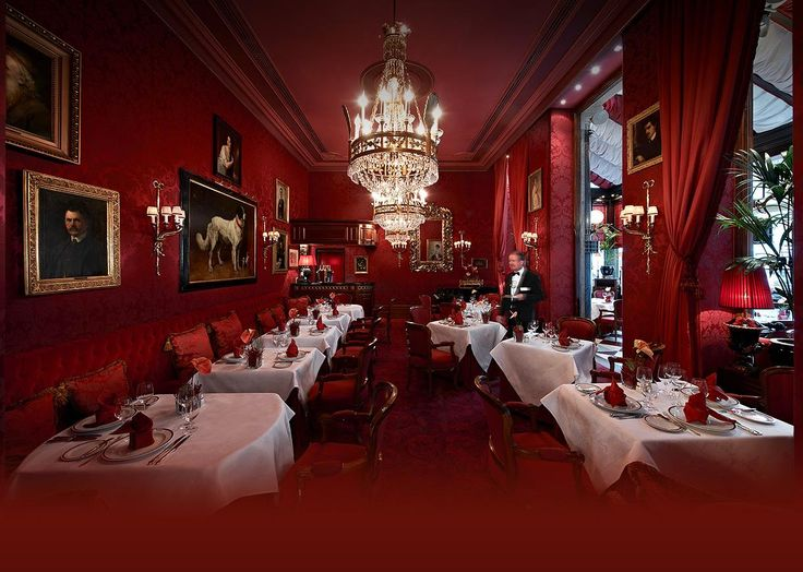 Sacher Wien Kulinarik Rote Bar
