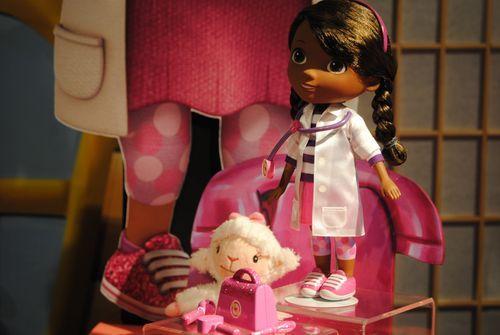Doc McStuffins doll- it sings! Dot's christmas gift??