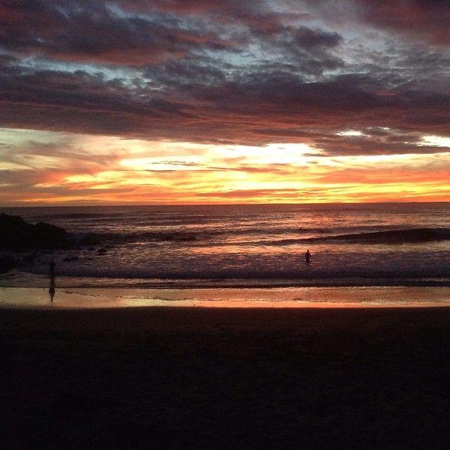 Evening sky at Las Penitas Nicaragua