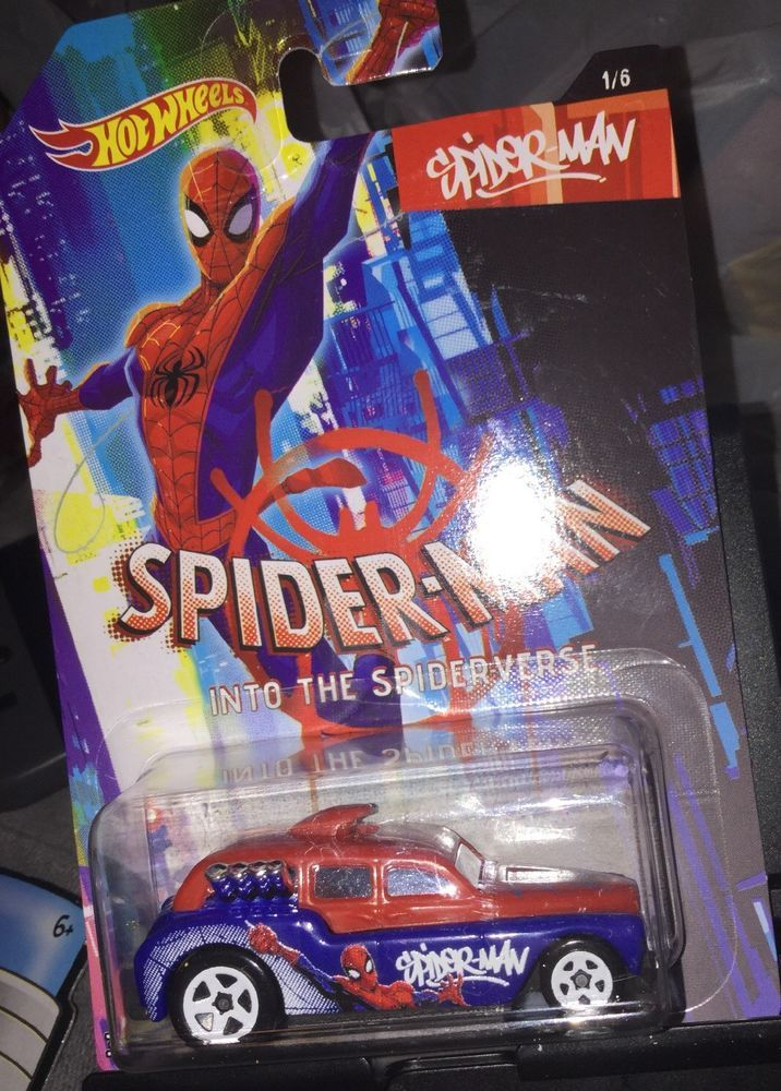 Hot Wheels Marvel Spider-Man Into the Spider-Verse #1 Spider