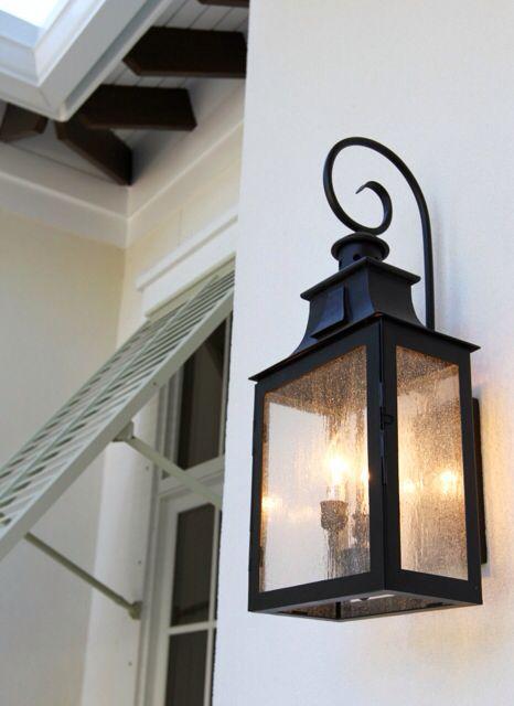 #lighting #sconce #exterior www.seacastlebuilders.com