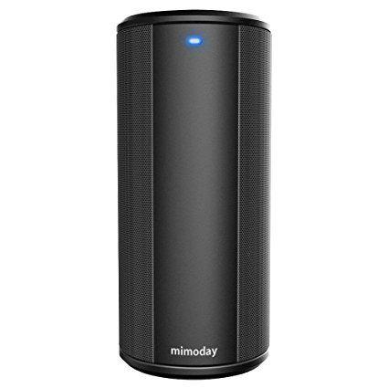 Mimoday Bluetooth Lautsprecher, Tragbare Bluetooth 4.0 Funklautsprecher 2 x 5 W mit verstärktem Bass, IPX5-SchutzartWasserfest und Stoßfest, eingebautes Mikrofon für den Innen- und Außengebrauch (Weiß): Amazon.de: Garten