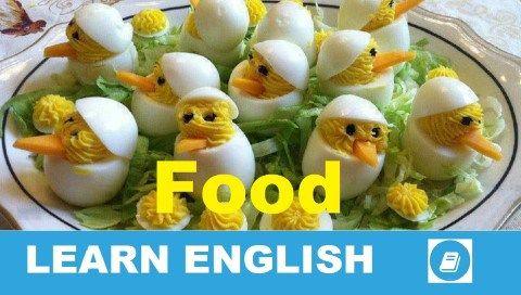 E-Angol szókincs - Ételek 1. rész