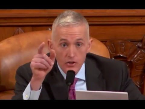 Trey Gowdy Finds Out FBI Director James Comey Won't Obey The Law & He's Pissed - YouTube