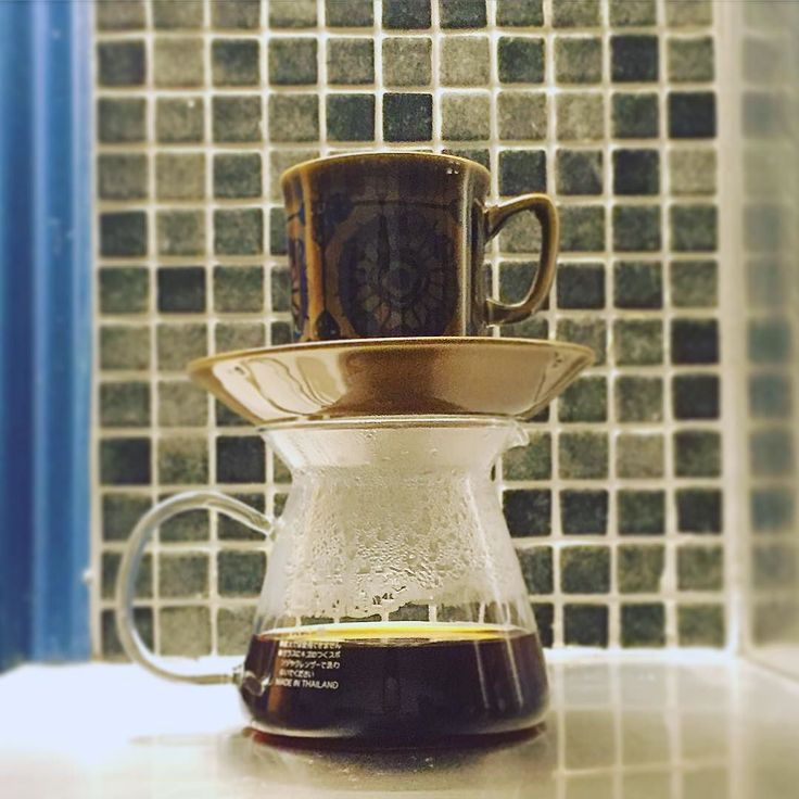 #eveningbrew Using up some 'old' beans from @lovecoffeeroasters : #biftugudina by kaffebox