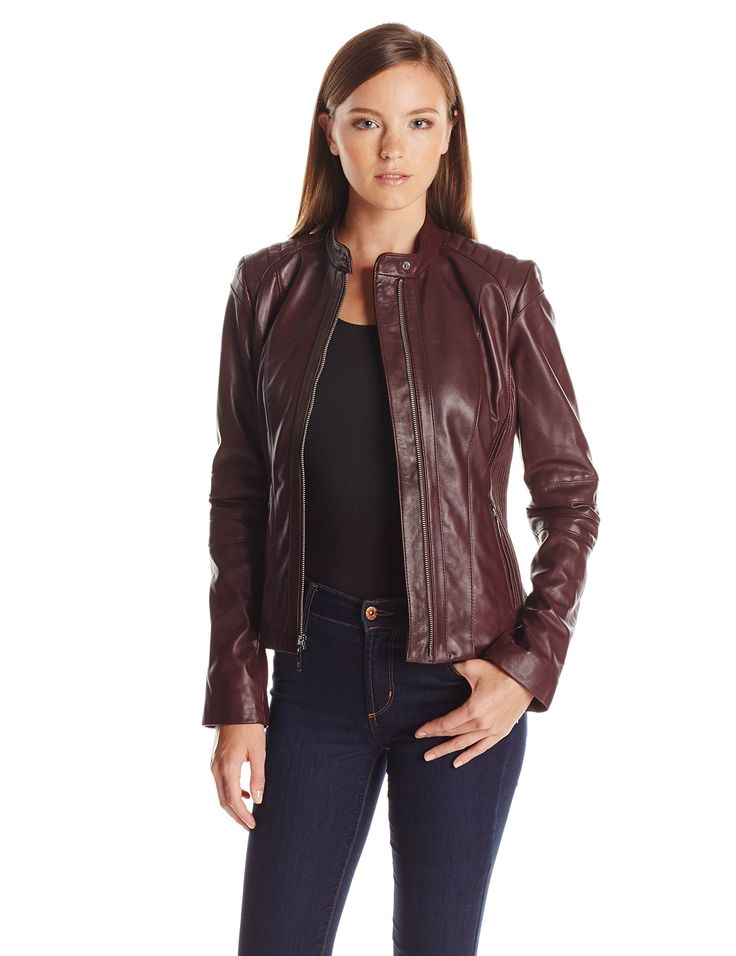 14 best Women's Leather Jackets images on Pinterest | Leather ...
