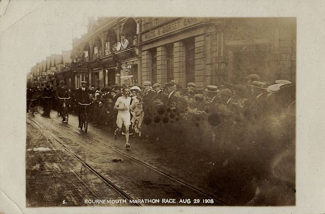 Bournemouth Marathon Race 1908 | Flickr - Photo Sharing!