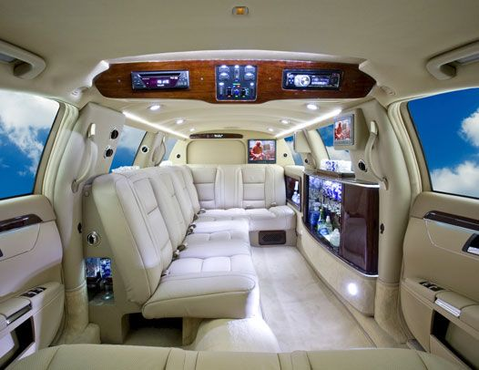 Limo For Sale >> Long stretch of a new Custom Mercedes Limousine - 8 to 10 ...