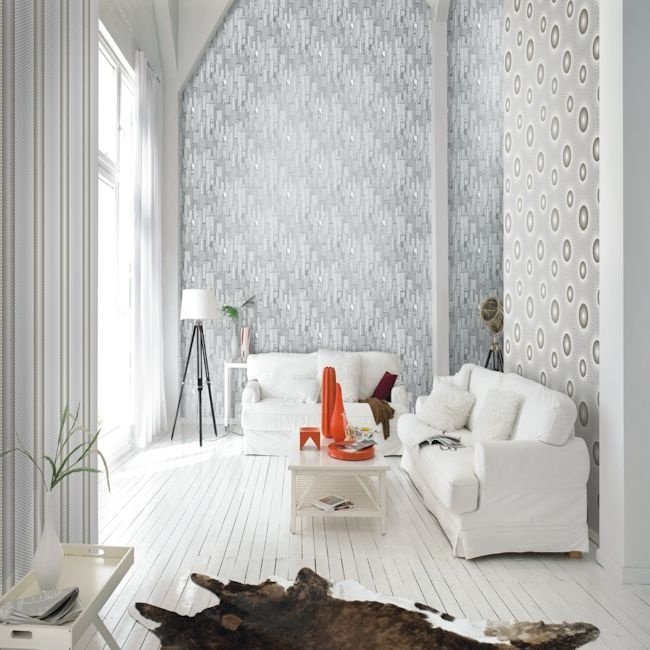 Seduction By Vision.  Wallpapershop / Murrays Interiors