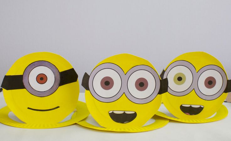 How to make easy Minion hats | Birthday Party Hats