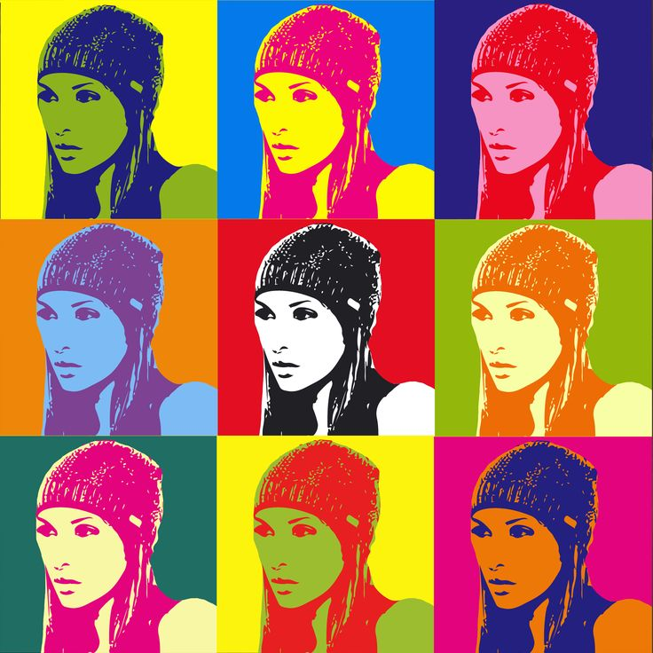Andy Warhol Pop Art Quotes: 31 Best Warhol Effect Images On Pinterest