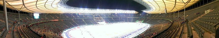 #Olympiastadion #Berlin #Panorama // DFB-Pokal-Finale: FC Bayern München vs. VfB Stuttgart // One hour after game