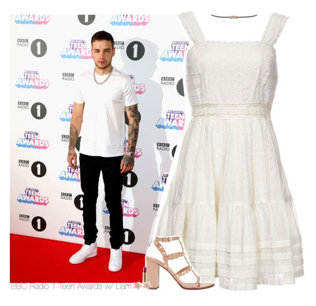 """""""BBC Radio 1 Teen Awards w/ Liam"""" by amberamelia-123 ❤ liked on Polyvore featuring Candela, Valentino, Miss Selfridge, Kevyn Aucoin and NAKAMOL"""
