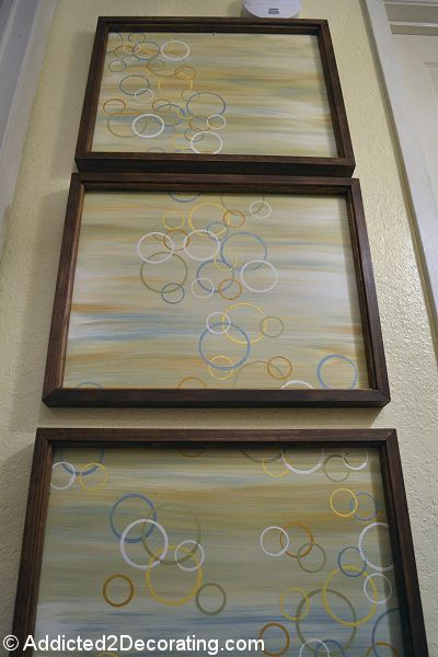 Easy Modern Triptych Wall Art
