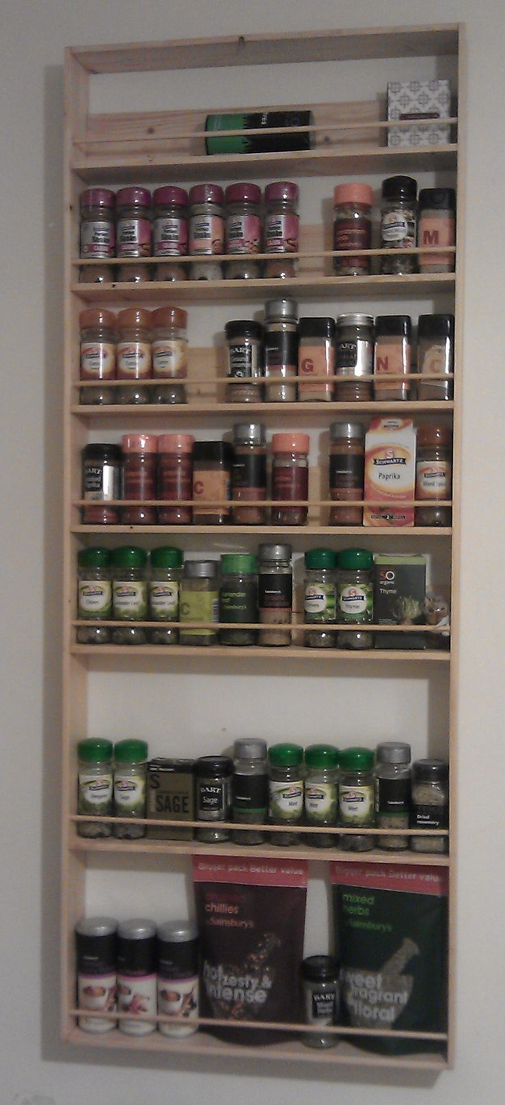 Spice Rack Ideas Best 25 Hanging Spice Rack Ideas On Pinterest Wall Spice Rack