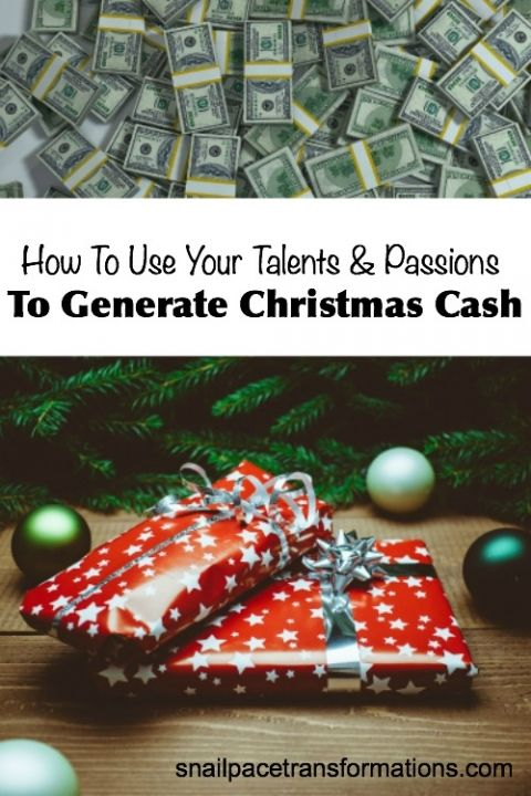 Need Christmas cash? Tap into your talents with these ideas!