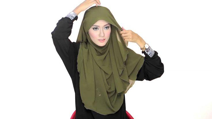 Shawlbyvsnow : Hijab Tutorial 3 with VS Essential Scarf XL