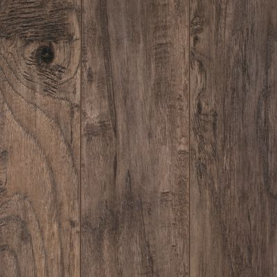 Cappuccino Hickory Hand Scraped Laminate - 12mm | Floor and Decor