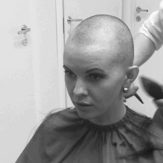 Shave It Off Going Bald Girl Short Hair Bald Women