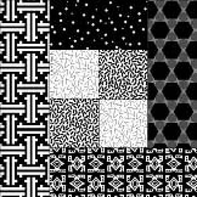Mock Log Cabin Quilt Block Pattern - Illustration © Janet Wickell