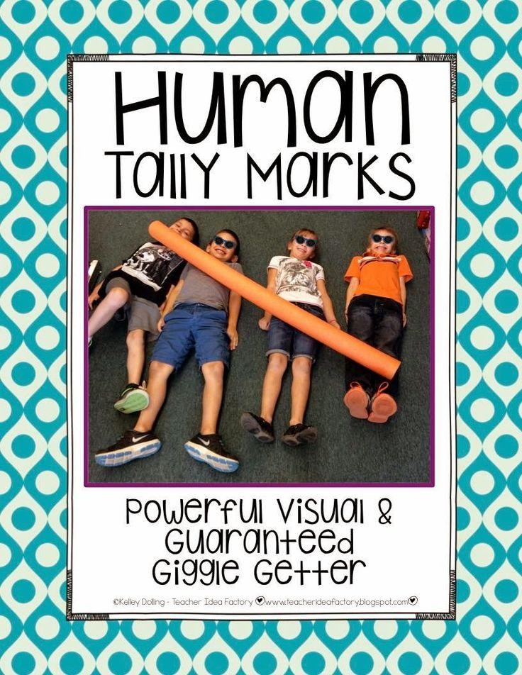 Human Tally Marks