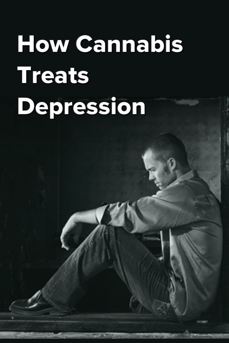 How Cannabis Treats Depression