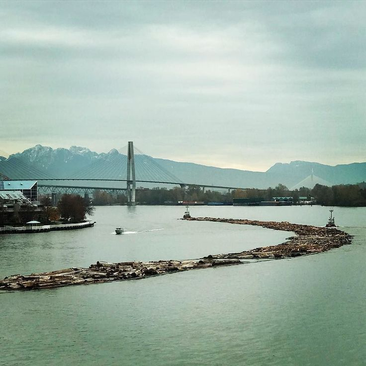 Love the views on this working river. A grey day today but still interesting. . #vancityhype #getoutside #discoverglobe #beautifuldestinations #socialrealtor #socialmedia #yvrre #realtor in #yaletown #vancity #vancouverrealestate #theevlist #wp #linkedin #instahub #instagood #love #engelvolkers #portroyal #logs #newwestminster