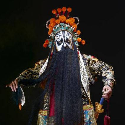 The Colorful Masks of the Chinese Opera♦Color is used to quickly connect the audience to each character's traits. In fact, the audience often feels such an instant and intimate understanding that you might even say that the colors are the characters.