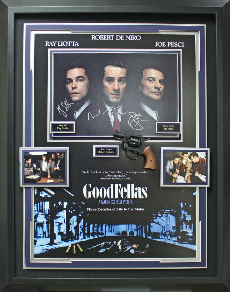 Signature Royale - GoodFellas Cast Signed Framed Display. #goodfellas, #movie, $1,874.95 (http://www.signatureroyale.com/goodfellas-cast-signed-framed-display/)