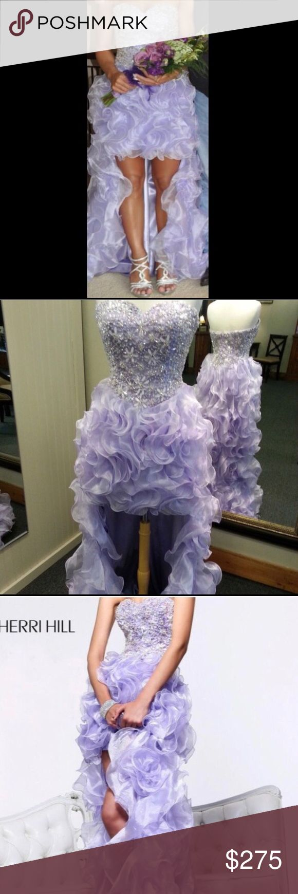 Sherri Hill 3871 Prom Gown Sherri Hill 3871 light purple. Originally priced at $550. This is a pre-owned dress only worn once. This is a beautiful dress! 💜💜 Model is 5'2. Sherri Hill Dresses Prom