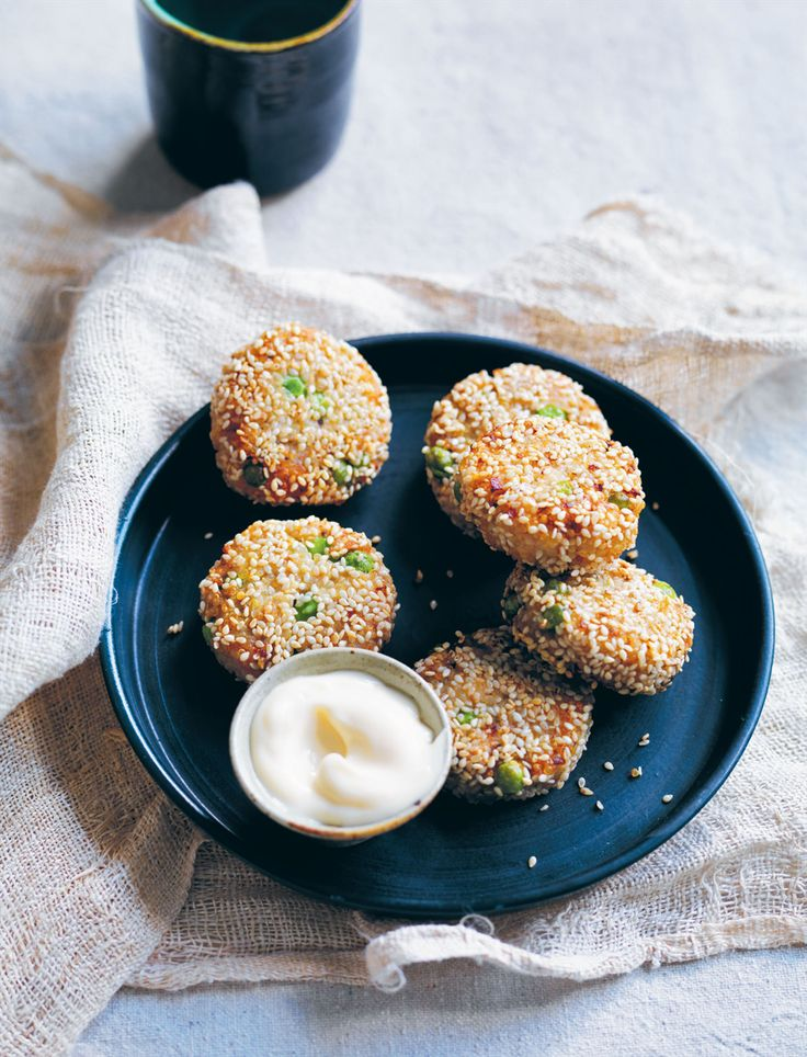 Quinoa chicken rissoles recipe from Something for Everyone by Louise Fulton Keats   Cooked